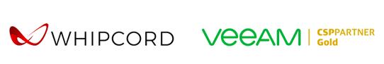 Whipcord & Veeam logo