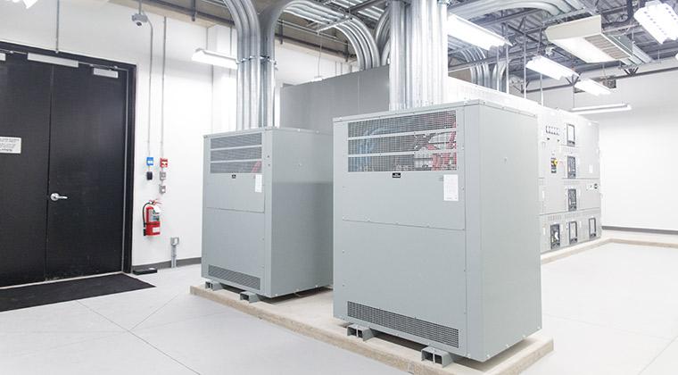 A+B Power Customer Infrastructure