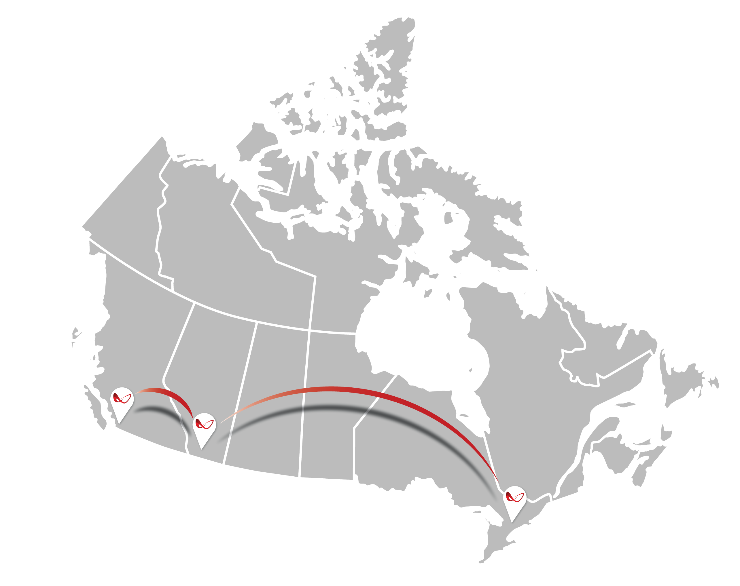 Map of Canada All